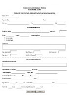 Road Sign Repair Form