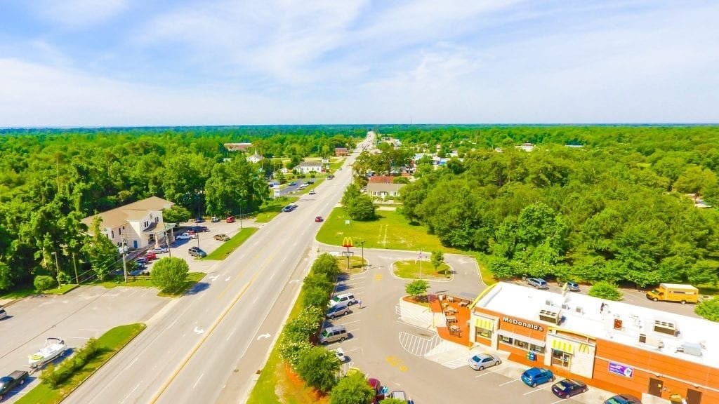 cities towns communities pender county government
