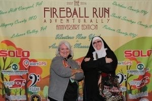 Fireball Run picture featuring Tammy Proctor of Pender County Tourism