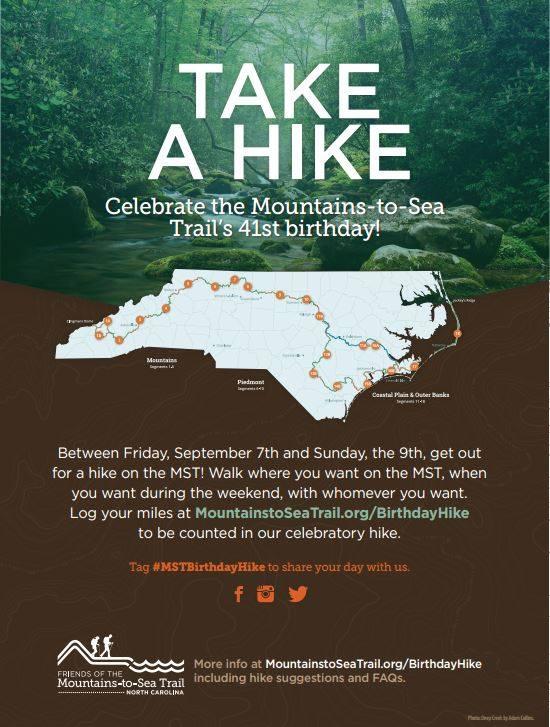 Mountains To Sea Trail Poster